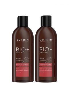 Cutrin Bio+ Original Active Shampoo, 2x200ml 400 ml.