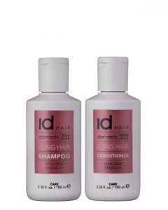 IdHAIR Elements Xclusive Long Hair Duo, 2x 100 ml.
