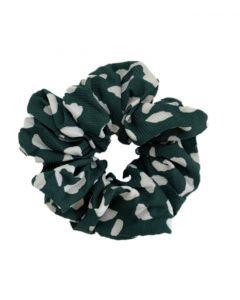 JA•NI hair Accessories - Hair Scrunchie, The Green Leo