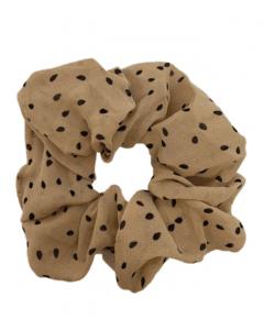 JA•NI Hair Accessories - Hair Scrunchies, The Nude Dots