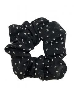 JA•NI Hair Accessories - Hair Scrunchies, The Black Dots