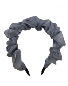 JA•NI hair Accessories - Headband, The Blue Wavy Silk