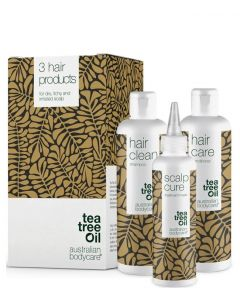 Australian Bodycare 3 Hair Products - For Dry, Itchy And Irritated Scalp