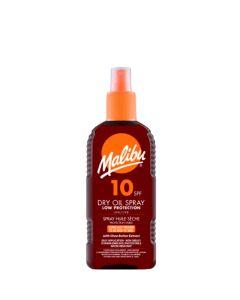 Malibu Dry Oil Spray SPF10, 200 ml.