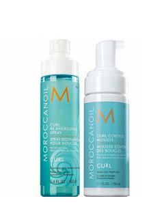Moroccanoil Curl Control Mouse & Reenergizing Spray, 310 ml.
