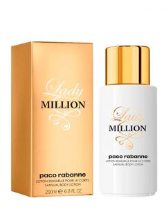 Paco Rabanne Lady Million Body lotion, 200 ml.