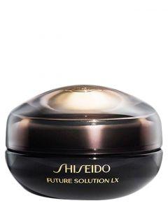 Shiseido Future Solution Eye and lip cream, 15 ml.